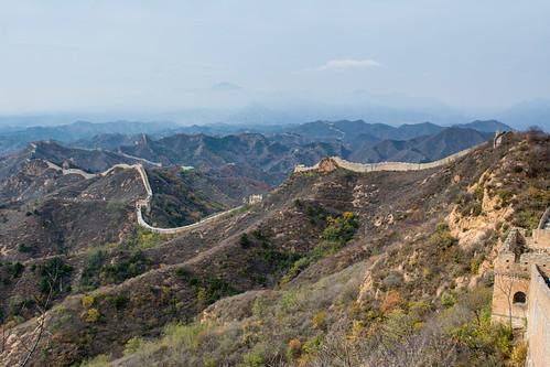 La muraille à Jinshanling