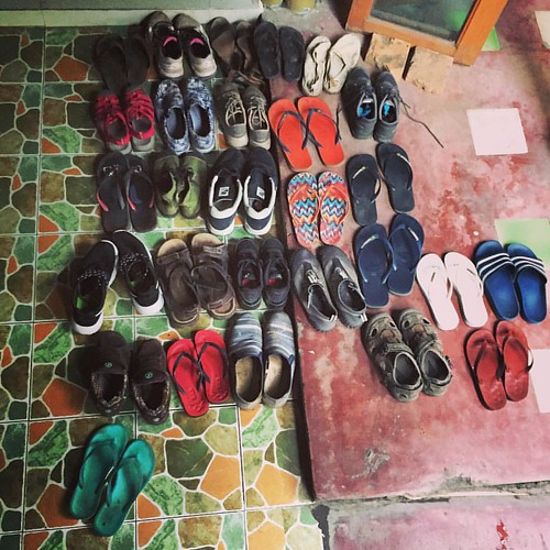 #Shoes  @ #deejaibackpackers #ChangMai #Thailand #thailoup #traveloup