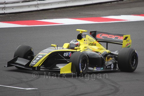 William Bratt in the Formula Renault 3.5 Saturday Race at Silverstone
