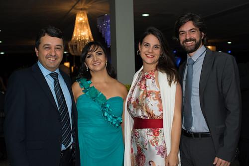 Rodrigo Vilela e Débora, Mayra e Pierre Toulouse