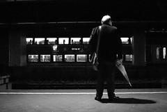 A Man waiting