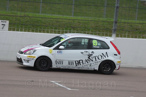 Sikander Hussain in Race 2, Fiesta Junior Championship, Rockingham, Sept 2015
