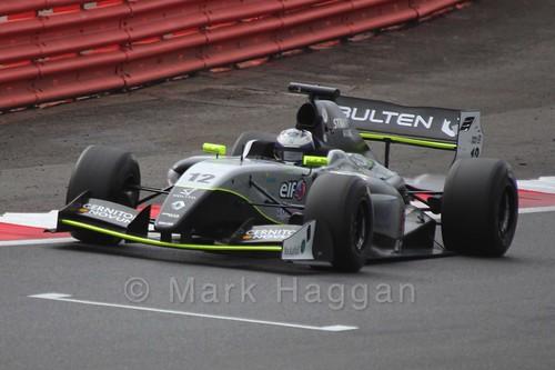 Gustav Malja in Saturday's Formula Renault 3.5 Race at Silverstone