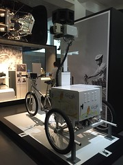 Google maps bicycle - Science museum - London
