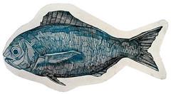 Pesce, acquaforte, 2013