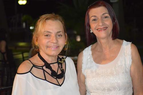 Graça Inácio e Leila Freitas