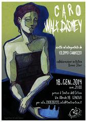 "Locandina ""Caro Walt Disney"""
