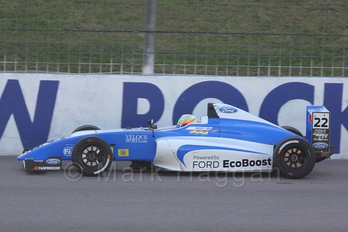 Tarun Reddy in MSA Formula at Rockingham, September 2015