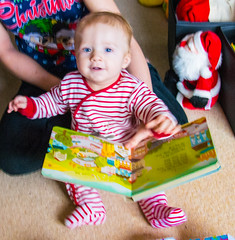 """Harrys First Christmas (1 of 25) • <a style=""""font-size:0.8em;"""" href=""""http://www.flickr.com/photos/87358990@N00/23335906803/"""" target=""""_blank"""">View on Flickr</a>"""