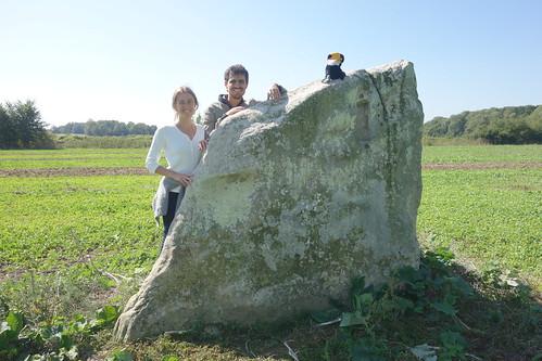 La pierre Couvée, dont l'école tient son nom !