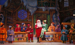 Elf The Musical tour company presented by Broadway Sacramento at the Community Center Theater Nov. 6 – 15, 2015. Photo by Chris Bennion.