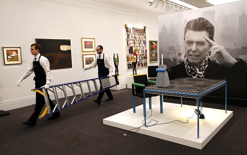 Britain Bowie Art Auction