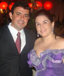 Luciana Lana e Elyzinho Azevedo