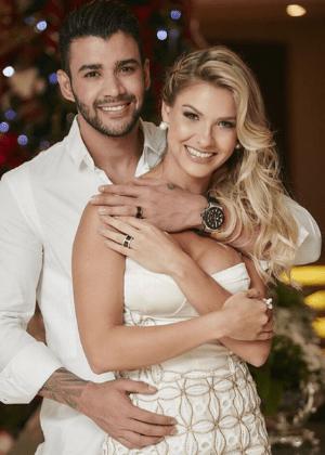"""Gusttavo Lima se casa com Andressa Suíta: """"Mulher que escolhi"""""""
