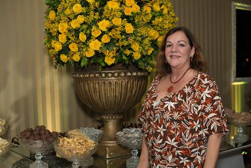 Critina Lodi Dias, que assinou o serviço de bufê com seu Prima Pasta