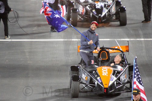Team Australia at The Race of Champions, Olympic Stadium, London, November 2015