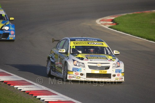 Kelvin Fletcher during the BTCC Brands Hatch Finale Weekend October 2016