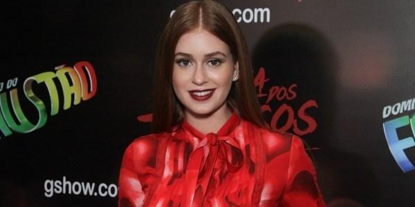 """Marina Ruy Barbosa revela """"bronca"""" de diretor:""""Quero você falando palavrão"""""""