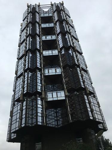 Les immeubles sont vraiment très originaux !