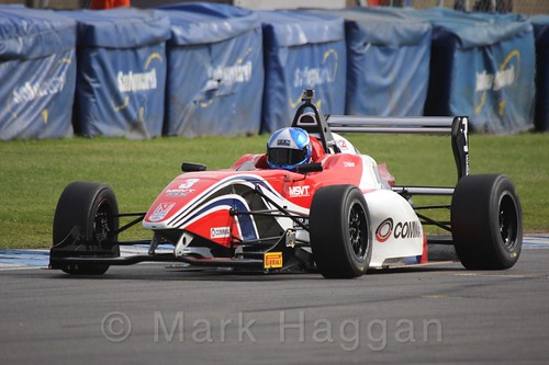 HHC Motorsport's Will Palmer in BRDC F4 Race two at Donington Park, September 2015