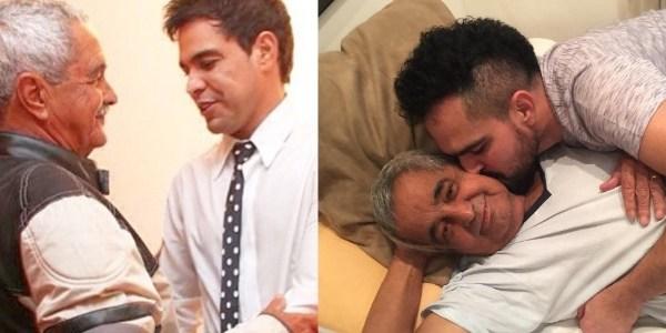 Zezé Di Camargo conta que o pai está com enfisema pulmonar