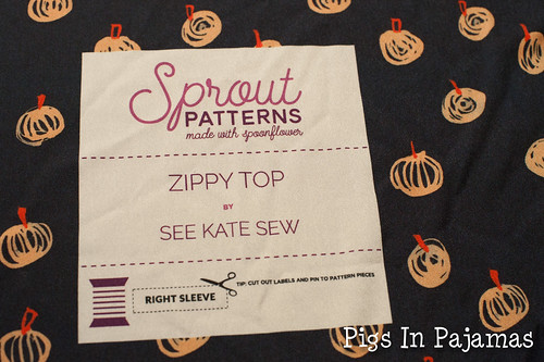 Sprout Zippy Top Label