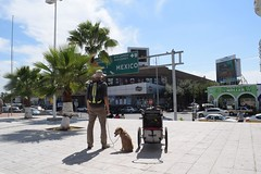 The World Walk begins. (The border patrol literally didn't ask for anything.) #TheWorldWalk #travel #mexico #twwphotos