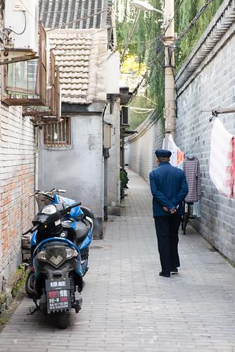 Ballade en vélo dans les hutongs