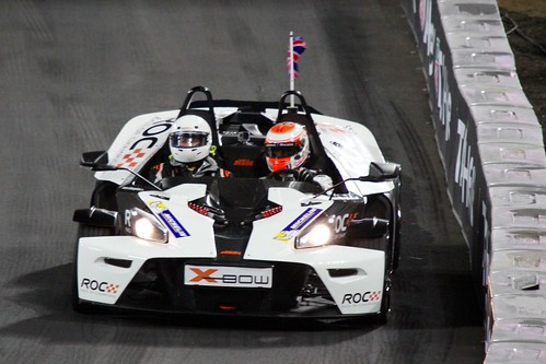 Jenson Button in The Race of Champions, Olympic Stadium, London, November 2015