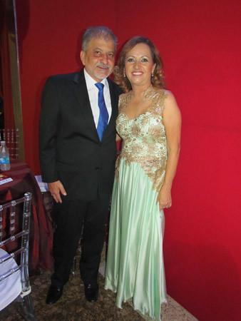 Chico Ferramenta e a prefeita eleita de Ipatinga, Cecília Ferramenta