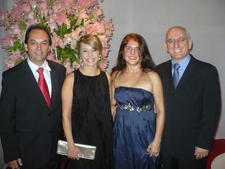 Meire e Luciano Araújo, Elda e Kléber Muratori