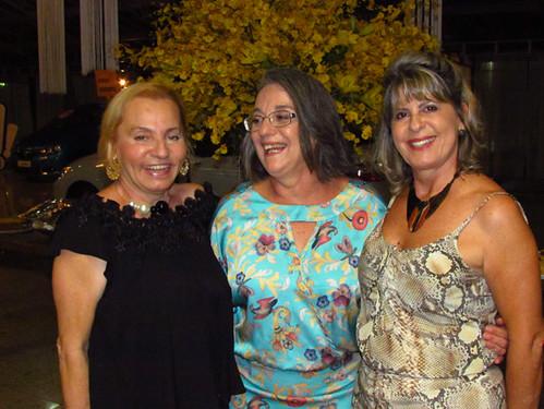 Graça Inácio, Ângela Torres e Carmelita Mendes