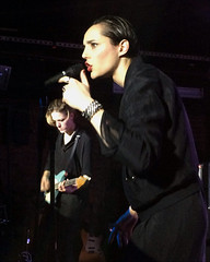 "Savages - 2015 NYC Residency, Mercury Lounge, New York City, NY 1-21-15 • <a style=""font-size:0.8em;"" href=""http://www.flickr.com/photos/79463948@N07/23566166515/"" target=""_blank"">View on Flickr</a>"