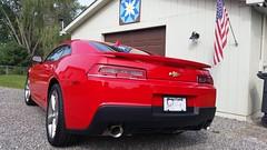 2015 Camaro RS Hot Red