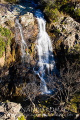 Quelhas stream waterfall