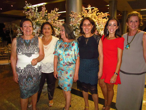 Vera, Neuza, Ângela, Cecília, Flávia e Celina, do SEPH