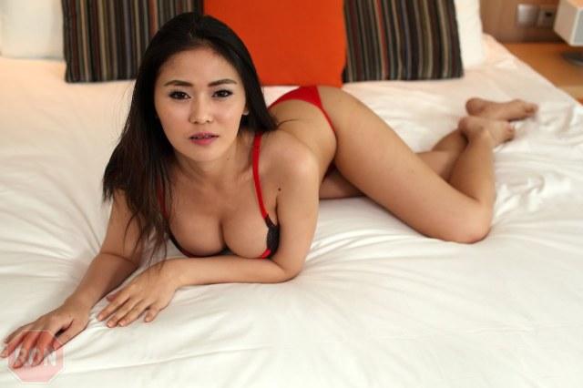 Zami07 Ronstop Tags Portrait Asian Model Glamour Lingerie Thai Zami
