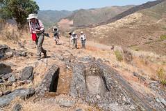 Sepulturas escavadas na rocha