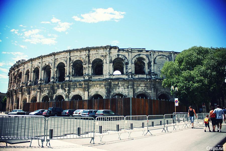 2016.11.06 | 看我的歐行腿| 南法又見古羅馬小鎮,看看新舊相容的尼姆 Nimes 有卡好嗎? 10