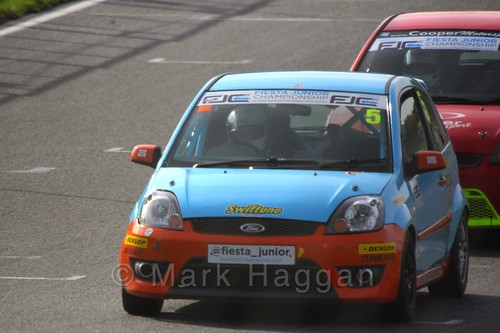 Ben Swift in the Fiesta Junior Championship, Brands Hatch, 2015