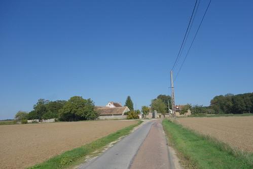 Dernières maisons en périphérie du village