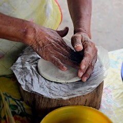 Once you see how tortillas are made... #theworldwalk #travel #mexico