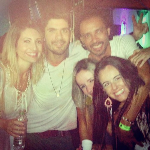 Dani Rezende, Fernando Guerrqa, Flávio Osamu e amigas