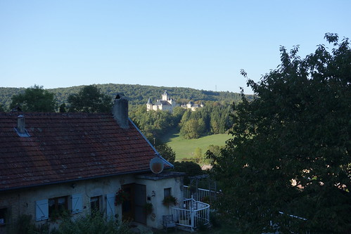 La région est riche en châteaux !