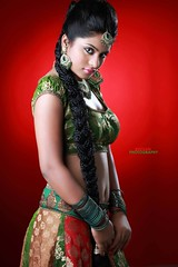 South Actress Deepika Das Traditional cum Hot Photos Set-3 (5)