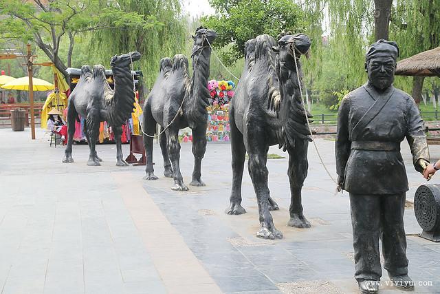 中國,張擇端,河南,清明上河園,清明上河圖 @VIVIYU小世界