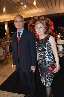 Taquinho e Margareth Abreu