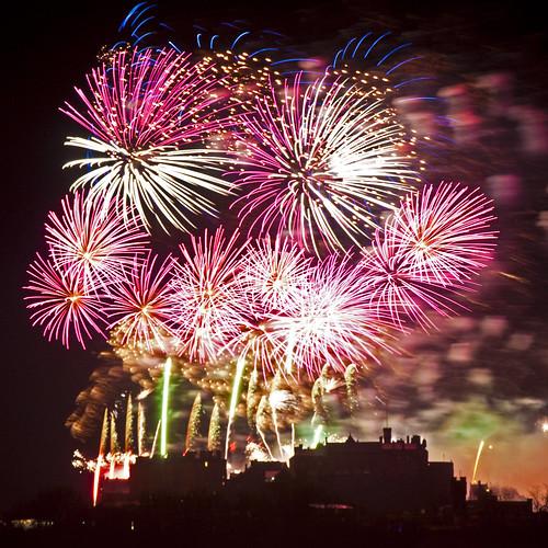 Edinburgh Hogmanay Fireworks 2011 - FP, Explore #2