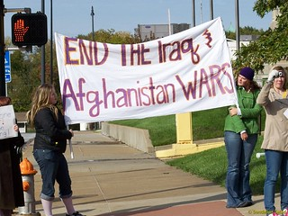 End the Iraq and Afghanistan Wars!