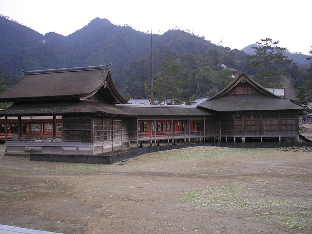 Itsukushima Shrine, 2006